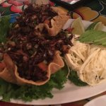 Grasshoppers with Oaxacan string cheese