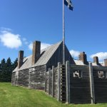 port royal stockade and French army flag of 1605