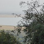 View of Lake Manyara from our room