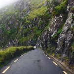Narrow roads on Conor Pass