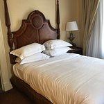 Standard Queen Size Bed, desk, dresser