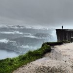 We hiked to Pulpit Rock (Preikestolen) on a rainy day, but were rewarded with dramatic views