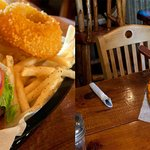 Come try our delicious burgers and pizza!