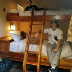 Bunk beds in the seperate room