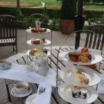 Afternoon Tea On The Terrace !