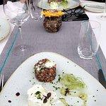 The salad quinoa burrata salad