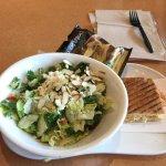 Salad and Sandwich Combo