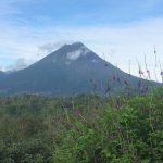 View of Arenal Volcano from Dining room