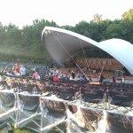 The 500 seat amphitheatre.....great venue!