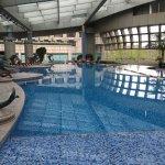 Hytt Regency indoor pool...excellent