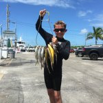 A great spearfishing trip with Shawn