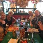 Fun Birthday Dinner at Sedona's newly opened Oregano's Pizza Bistro! We are all local