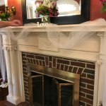 Decorated Fire Place