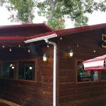 Hart's Firestone BBQ Entrance