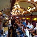 Inside of the rail car