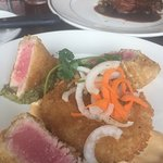 Yummy ahi tuna at Standard Diner
