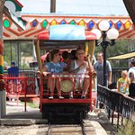 Wonderland Park Train