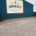 Outside the Dingle Distellery