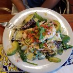 Full order of Santa Fe Crisper Salad with grilled chicken