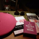 Wonderful items to buy in the gift shop. I'm having a pink party...so these items were perfect!