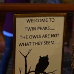 Twin peaks territory.