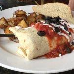 Bonzo Burrito Tortilla Wrap with Cafe fries