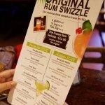 Rum Swizzle drinks menu
