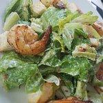 Ceasar Salad with Shrimp