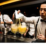 Head to Sokyo bar for a pre-dinner drink