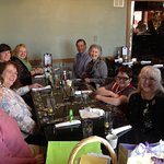 This was a group celebrating an anniversary at Peculiar Rabbit a few months ago.