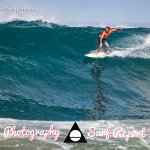 Our friend Jordy on a delightful waves in Nosara