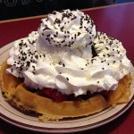 Over 22 different waffles!