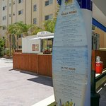 cabana bar and food truck