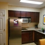 Kitchen at Residence Inn