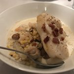 Food - atlantic cod and seafood chowda - Red Hen