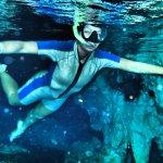 snorkeling cenotes