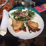 Garden Salad and the New Hampshire BLT was sooo good!