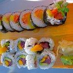 Flying Kamakaze and Gone-jah sushi
