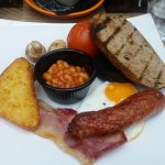 This was the first of a trio of Full English over a week. Yummy!