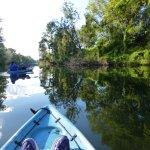 Kayaking Yabba Creek in the Mary Valley Region, Queensland, Australia