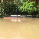 Boats on the Usumacinta to Yaxchilan