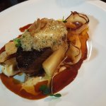 Taupo Eye fillet with Kikorangi (blue cheese) butter and parsnip
