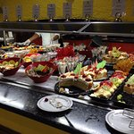Their dessert bar :)