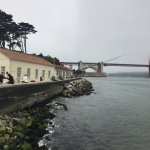Great views of the golden gate.
