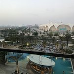 Great view of yas island