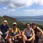 Overlooking Laguna de Masaya from Volcan Masaya
