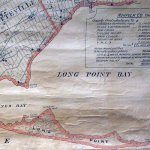 Old map of Long Point-for a while, it was an island!