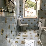 The most beautiful bathroom - loved this tile!!