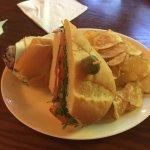 The(barely) roast beef sandwich