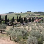 The view from Monticchiello
